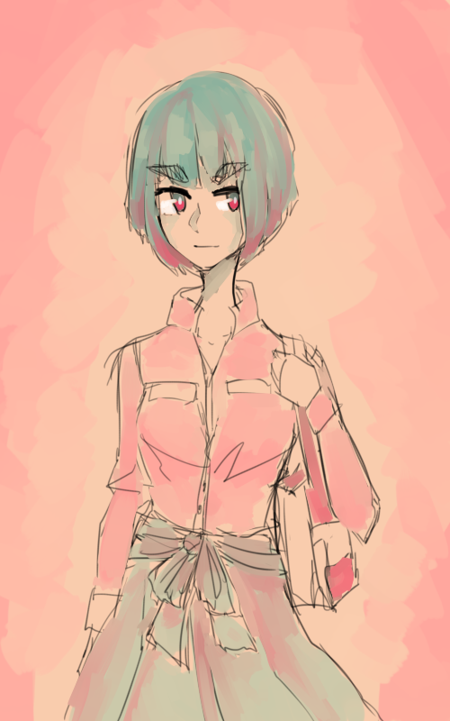 tumblr color palette meme thingy: satsuki by relaxedSlug on
