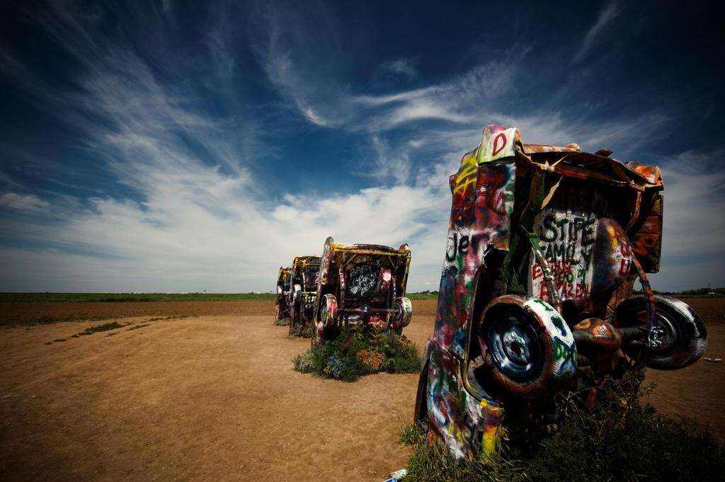 Cadillac Ranch by Konijntje