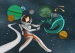 Space encounter
