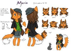 Chara Design Cartoon Maria