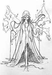 Faebuary 12 - Aquatic Fairy