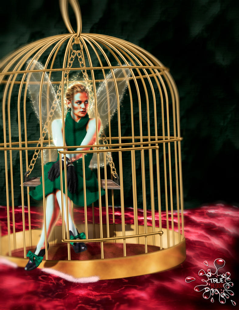 Caged Fairy by ctribeiro