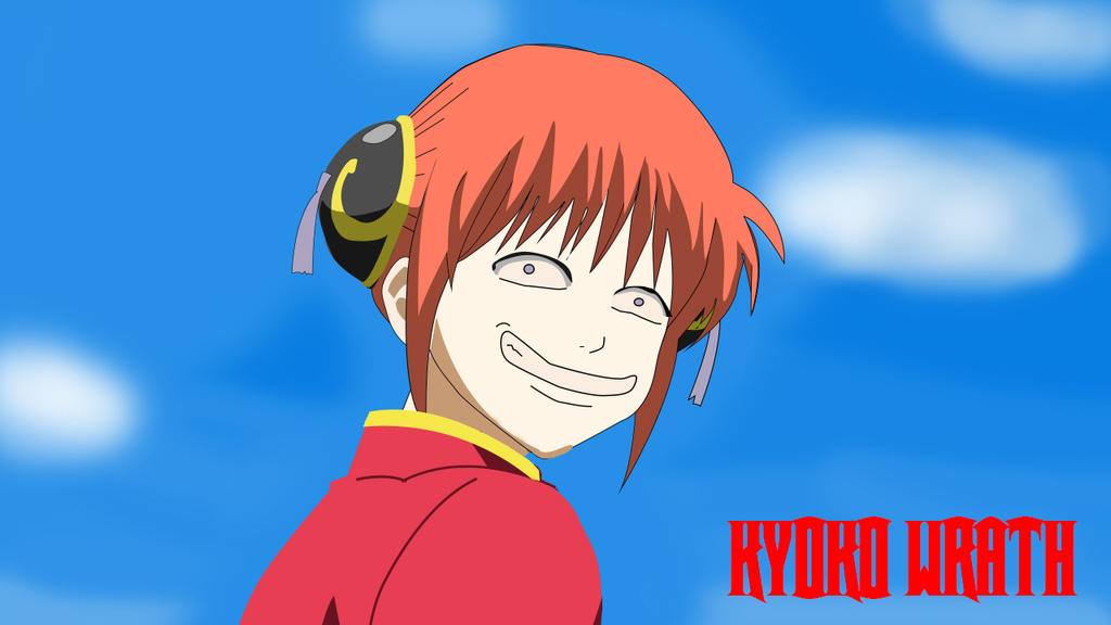Kagura Troll Face With Background By Katman04
