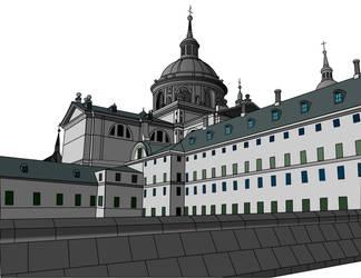 Monasterio del escorial by RnKr
