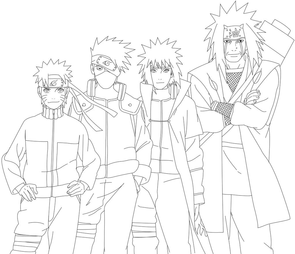 Naruto legacy by tickle me monkey on deviantart - Dessin naruto akkipuden ...
