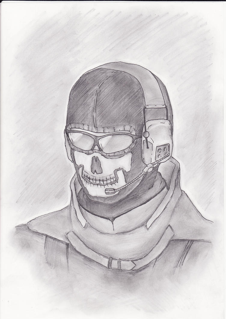 Modern Warfare 2 : GHOST by Niksuttaja on DeviantArt