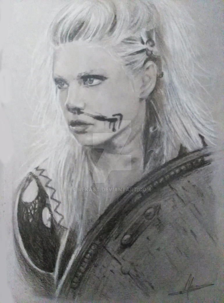 Lagertha Vikings by Rekast