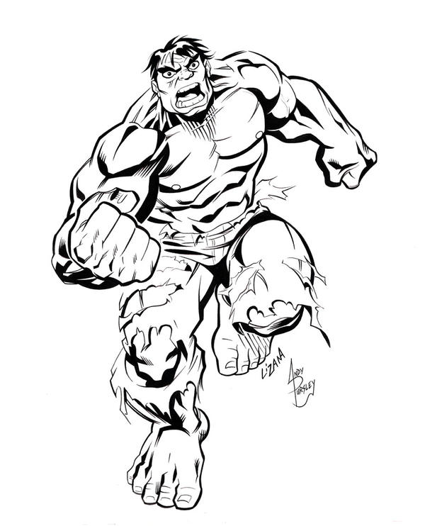 Hulk Face Line Drawing : Incredible hulk by scarab on deviantart