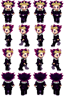 Yami Character Sprites by spookeh-microbat