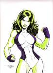 She Hulk by Scott Dalrymple