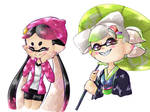 Squid Sisters go back!