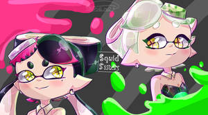 Squid Sisters by SashaMalinka