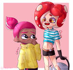 Friendly Octoling