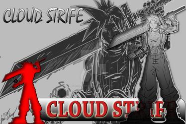 ZBRUSH HERO WEEKLY ART CHALLENGE: Cloud Strife
