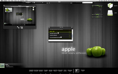 Green Apple by Hexxher
