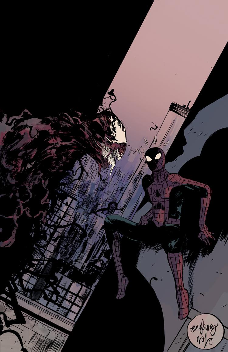 Spiderman vs carnage drawings - photo#49