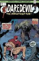 Daredevil Cover by paulmaybury