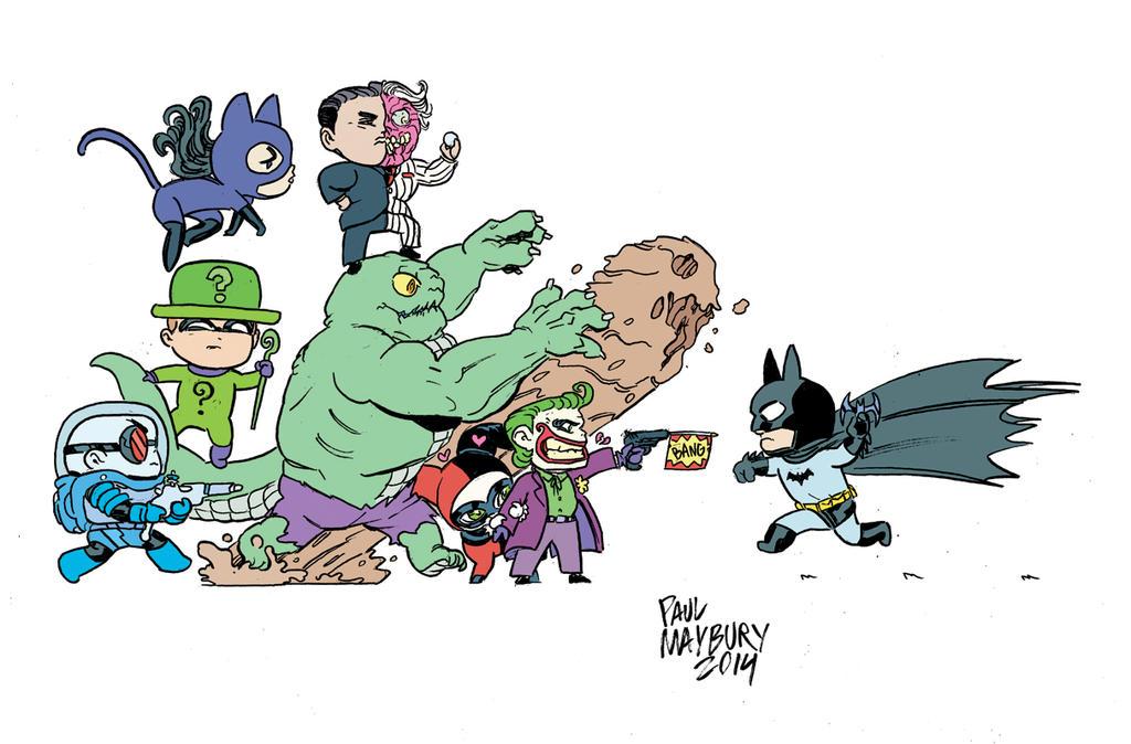 Mini Batman by paulmaybury