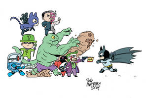 Mini Batman by paulmaybury