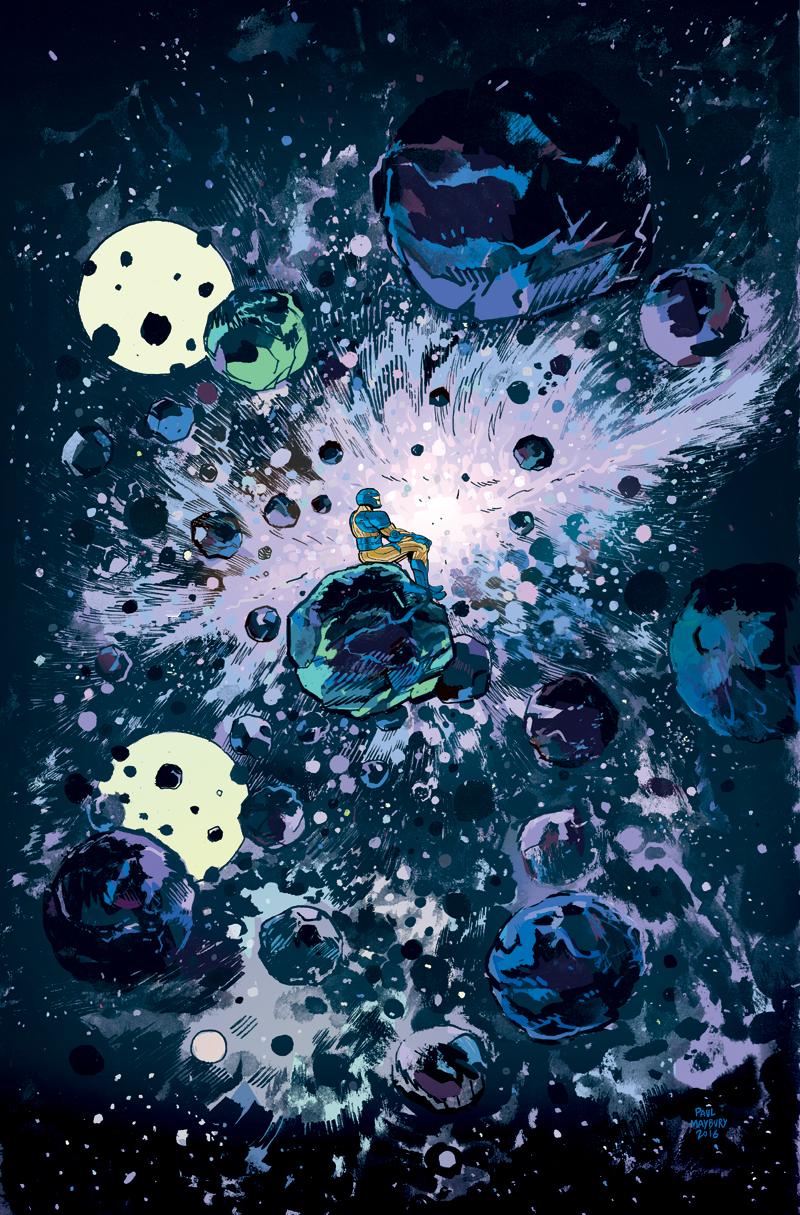 X-O Manowar cover by paulmaybury