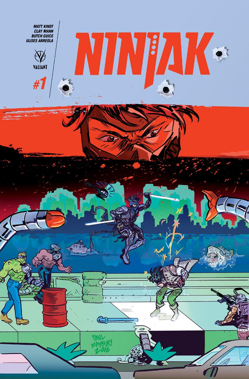 Ninjak cover by paulmaybury