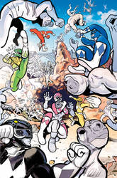 Mighty Morphin Power Rangers cover