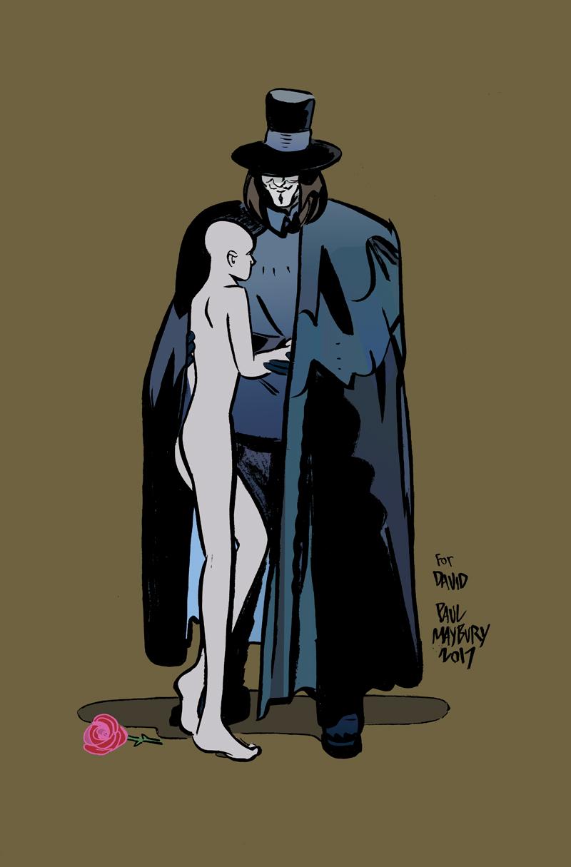 V For Vendetta by paulmaybury