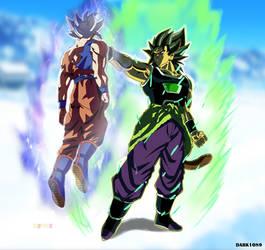 Ultra Instinct Goku vs Yamoshi