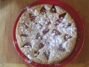 Italian Strawberry Tart