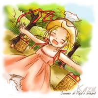 Summer at Papa's Orchard by kazu-chu