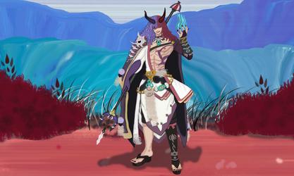 Yasha Mid-Evolution [Onmyoji Contest Entry]