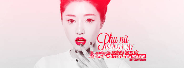 Cover facebook by Yuby .# Red color