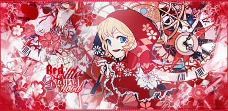 [SIGN] Little Red Riding Hood by Saelyaz