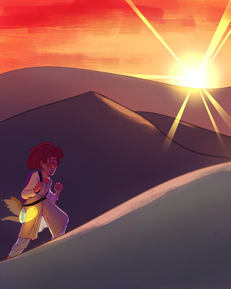 Desert Wanderer by Yuiartenn