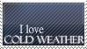 Cold Weather Stamp by WetWithRain