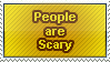 Scary Stamp by WetWithRain