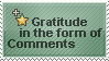 Gratitude Stamp by WetWithRain