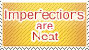Imperfections Stamp by WetWithRain