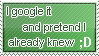 Google Stamp by WetWithRain