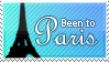 Paris Stamp by WetWithRain