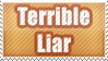 Liar Stamp by WetWithRain