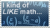 Math Stamp by WetWithRain