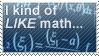 Math Stamp