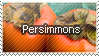 Persimmons Stamp by WetWithRain