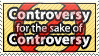 Controversy Stamp by WetWithRain
