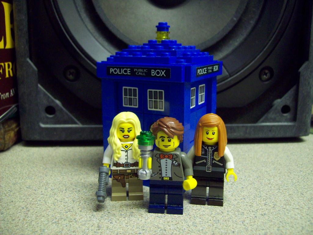 Lego Doctor Who by LucifersLego