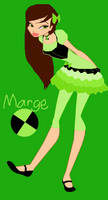 My Ben 10 OC Margrette (Marge) Clarence Tennyson