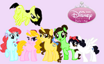 My Little Disney Princesses
