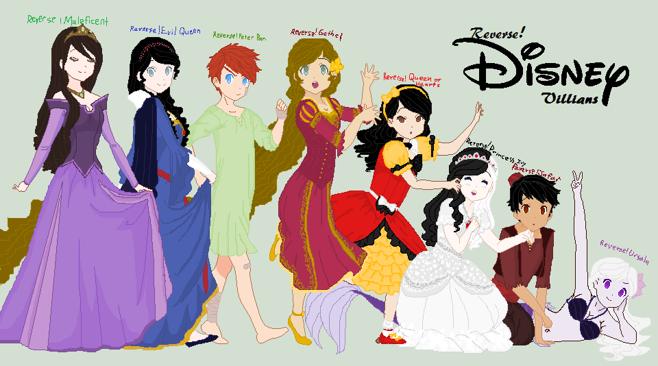 Reverse!Disney Villians by HatterM97