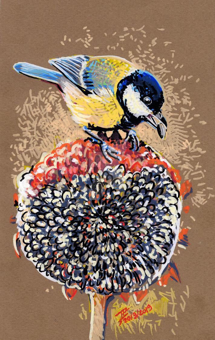 TitSunflower by dessinateur777